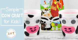 This Cow Craft Is Perfect For Your Farm Preschool Unit With Just A Few Simple
