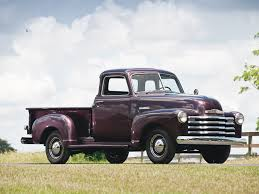 100 1951 Chevy Truck RM Sothebys Chevrolet 1300 FiveWindow Pickup The