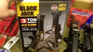 Duralast Floor Jack Handle by Black Jack 3 Ton Capacity Jack Stands Review Youtube