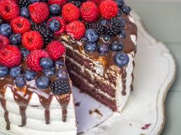 waldfrucht nougat torte