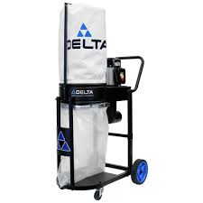 Delta 1 HP Dust Collector-50-723 T2 - The Home Depot Dust Collection Fewoodworking Woodshop Workshop 2nd Floor Of Garage Collector Piping Up The Ductwork Youtube 38 Best Images On Pinterest Carpentry 317 Woodworking Shop System Be The Pro My Ask Matt 7 Small For Wood Turning And Drilling 2 526 Ideas Plans