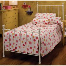 Metal Bed Full by Molly Iron Kids Metal Bed In White Humble Abode