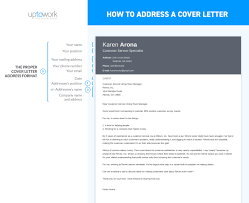 How to Address a Cover Letter Sample & Guide 20 Examples