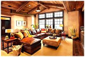 Rustic Sectional Sofa Cool Couch Leather