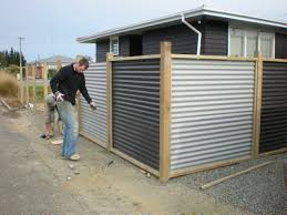 CORRUGATED METAL FENCE PANELS | FENCES … | Pinteres… Best 25 Corrugated Metal Walls Ideas On Pinterest Metal Gutter Guards For Standing Seam Roof Roofing Vs Pros Cons Of Each Suntuf 26 In X 8 Ft Polycarbonate Panel Clear101697 Roofing Buildings Pole Barn Shop Trusnap Siding And By Bridger Steel 346 Best Sheet Images Projects Balcony Roof Tin Stunning Panels Find Tin Kitchen Wall