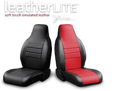 LeatherLite™ Soft Simulated Leather Seat Cover Series - Fia Inc ... Dodge Ram Pickup Seat Covers Unique 1500 Leather Truck Seat Covers Lvo Fh4 Black Eco Leather For Jeep Wrangler Truck Leatherlite Series Custom Fit Fia Inc Auto Upholstery Convertible Tops Mccoys New York Ny By Clazzio Man Tga Katzkin Vs 20pc Faux Gray Black Set Heavy Duty Rubber Diamond Front Cover Masque Luxury Supports Car Microfiber