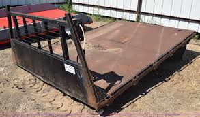 100 Steel Flatbed Truck Beds Truck Bed Item J7962 SOLD August 12 Vehicles An