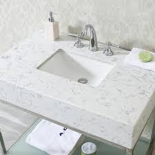Single Sink Bathroom Vanity With Granite Top by Ace 36 Inch Single Sink Bathroom Vanity Set With Quartz Countertop