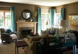 curtains teal living room curtains designs brown and teal living