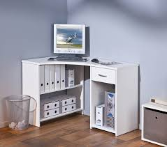 bureau ordinateur blanc meuble bureau ordinateur blanc en coin grossi belfurn