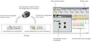 Keyence Light Curtain Manual Pdf by Iv Ws Sr53800 Simulation Function Gif
