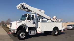 100 Bucket Truck For Sale By Owner 2008 Freightliner M2 4x4 Altec TA50 55 YouTube