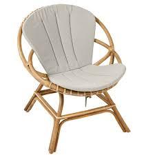 siege en rotin sièges en rotin vintage naturel kok maison