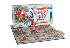 1970s Candy Land Board Game