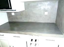 plan de travail cuisine béton ciré plan de travail cuisine effet beton plan travail beton cire blanc
