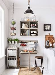 A Gorgeous Small Kitchen With Home Decor From Pottery Barn Apartment PBApartment