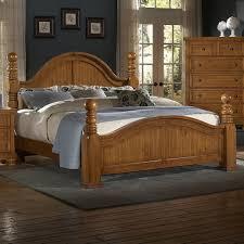 Vaughan Bassett Triple Dresser by Reflections King Cannonball Poster Bed By Vaughan Bassett
