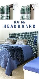 How To Decorate A Bedroom With No Money Get Guest Room Ready Easy Headboard Make