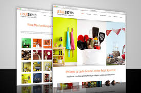 Leslie Groves Creative Retail Solutions Website