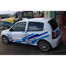 deco voiture de rallye déco rallye clio ragnotti 769 765