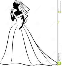 Wedding Dress Clipart Gallery