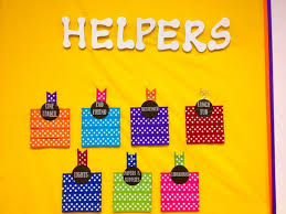 2 Get Your Students Excited About Pitching In With An Adorable Helpers Wall