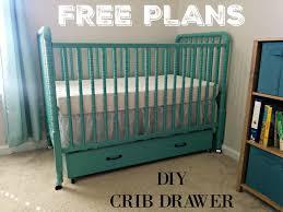 Cloth Diaper Revival DIY Crib Drawer FREE PLANS}