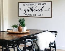 Kitchen Sign Dining Room Decor Rustic Framed Wood The Best