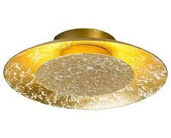 deckenleuchte metall gold led wayfair deckenle