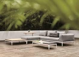 canapé teck jardin salon de jardin en teck de l élégance et du luxe en extérieur