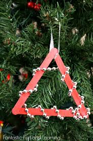 Easy Beaded Christmas Tree Ornament Craftlow Mess And Great For Toddlers