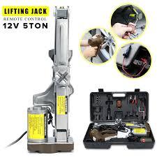 100 Truck Jacks US 13562 35 OFF140mm 430mm 5T2T 12V DC Electric Car Jack Lift Van Garage High Power Car Electric Universal Tire Replacing Toolin