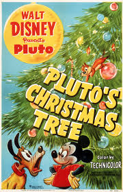 Plutos Christmas Tree 1952