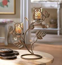 Owl Duo candle Holder  OFF My Dream Palace