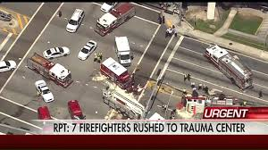100 Fire Truck Accident A Truck And Ambulance Crash In Miami Florida YouTube