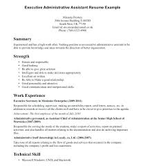 Sample Resume Administrative Administration Amazing Medical Prepared Centennial Fantastic Template System