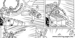 Lego Marvel With Spiderman Coloring Pages Print Download 212 Prints