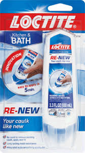 Polyseamseal Tub And Tile Adhesive Caulk by Re New Silcone Caulk Renewal Directions From Loctite Adhesives