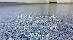 Quikrete Garage Floor Epoxy Clear Coat by Polyaspartic Garage Floor Coating Time Lapse Youtube