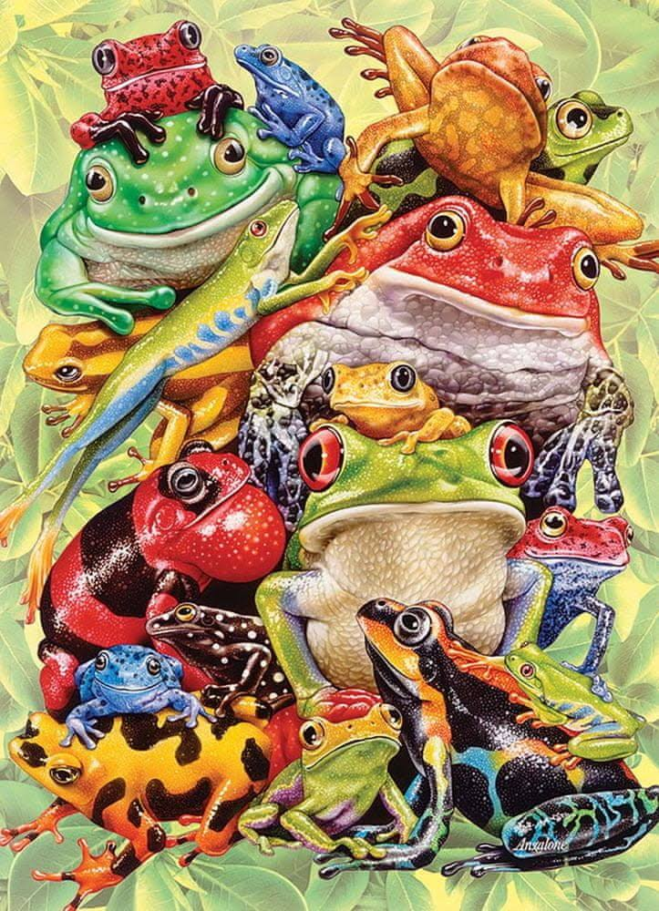 Cobble Hill Frog Pile Jigsaw Puzzle