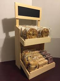 Rustic Wood Bakery Counter Display POP Chalk Board Sign