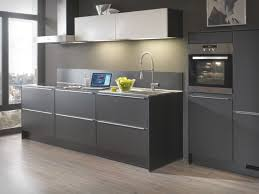 Stylish Grey Modern Kitchen Design Throughout Gray Shaker Cabinets Contemporary Ideas