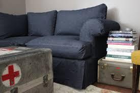 Cindy Crawford Beachside Denim Sofa by Furniture Couch Slips Denim Sofa Slipcover Denim Armchair