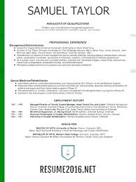 Perfect Resume Layout Formatting Examples Sample Resumes Example With 2016