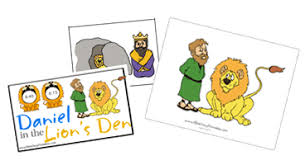 Daniel In The Lions Den Printables