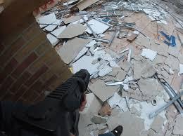 Popcorn Ceiling Asbestos Danger by Asbestos Ceiling Tiles Or Not Home Improvement Stack Exchange
