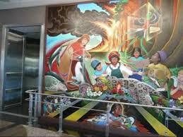 Denver International Airport Murals New World Order by Denver Airport Mural Youtube