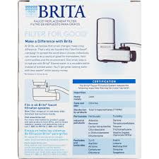 Pur Faucet Filter Replacement by Brita On Tap Faucet Water Filter System Replacement Filters