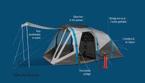 tente 4 places 2 chambres seconds family 4 2 xl quechua innovations sportives decathlon facilite votre quotidien