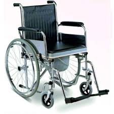 handicap toilet chair with wheels handicapped wheelchairs manual wheelchairs manufacturer from indore